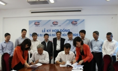 LILAMA10: Signing contract for construction Nghi Son Oil Refinery Plant.